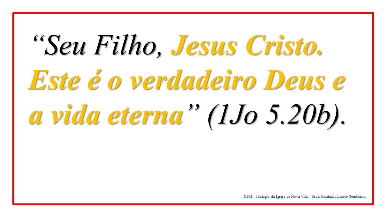 Seu Filho, Jesus Cristo