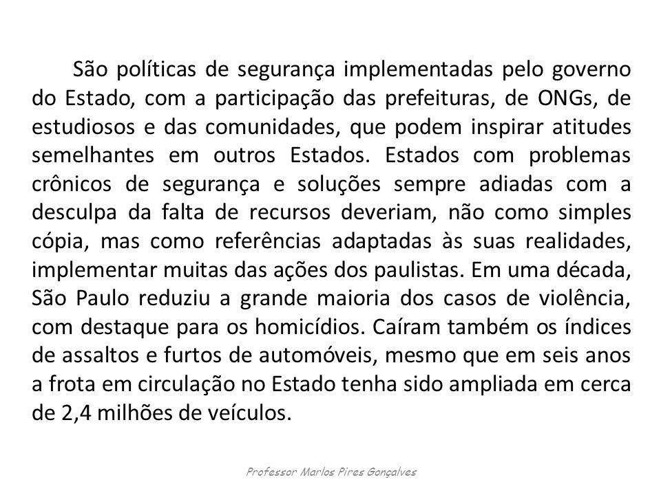Professor Marlos Pires Gonçalves