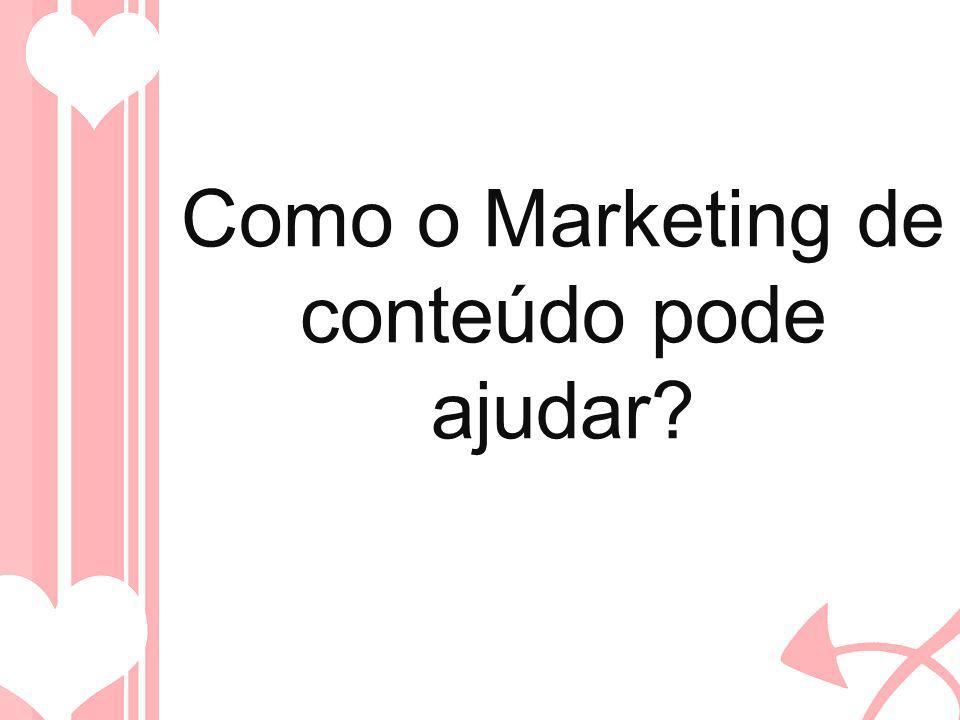 Como o Marketing de conteúdo pode ajudar