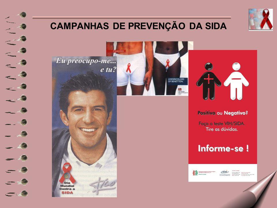 CAMPANHAS DE PREVENÇÃO DA SIDA