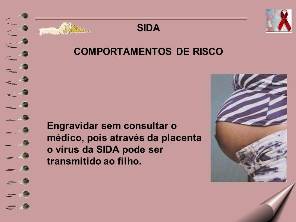 SIDA COMPORTAMENTOS DE RISCO