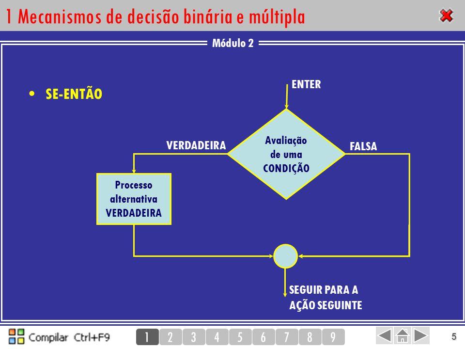 1 Mecanismos de decisão binária e múltipla