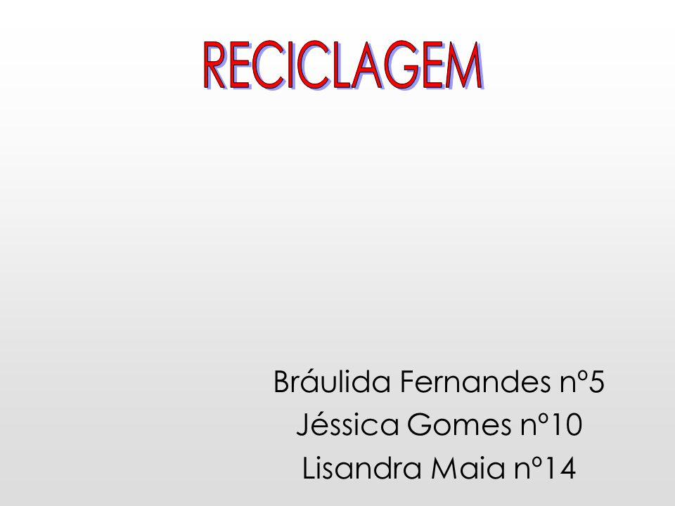 Bráulida Fernandes nº5 Jéssica Gomes nº10 Lisandra Maia nº14