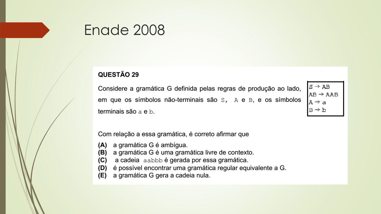 Enade 2008