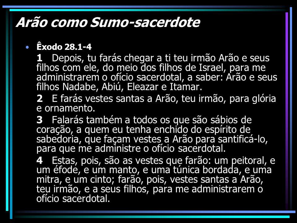 Arão como Sumo-sacerdote