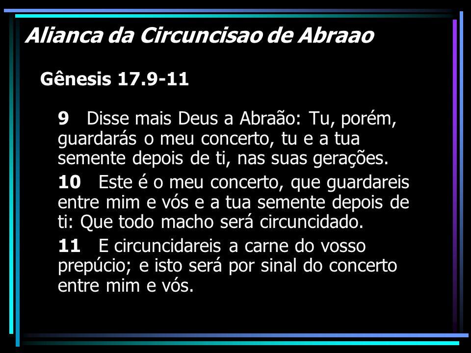 Alianca da Circuncisao de Abraao