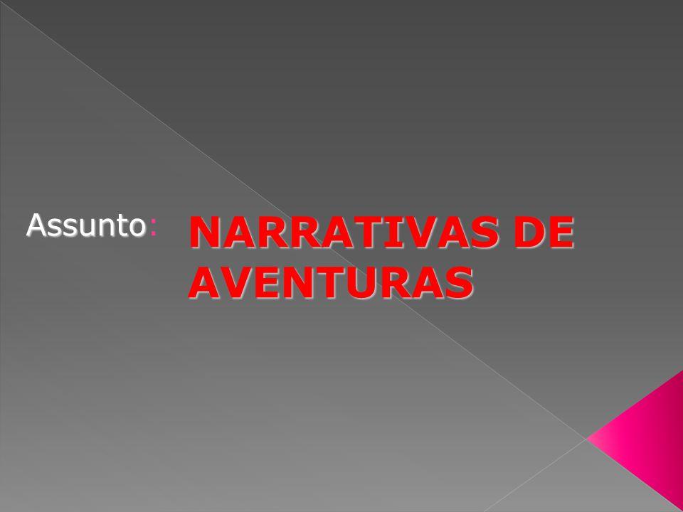 NARRATIVAS DE AVENTURAS