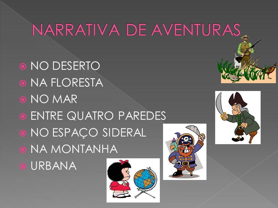 NARRATIVA DE AVENTURAS