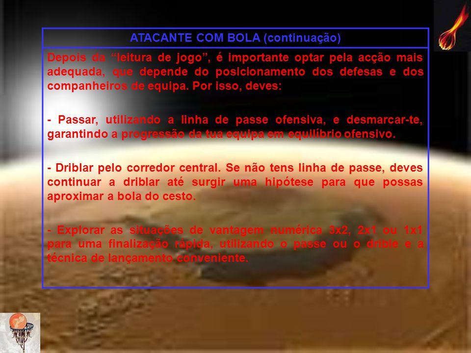 ATACANTE COM BOLA (continuação)
