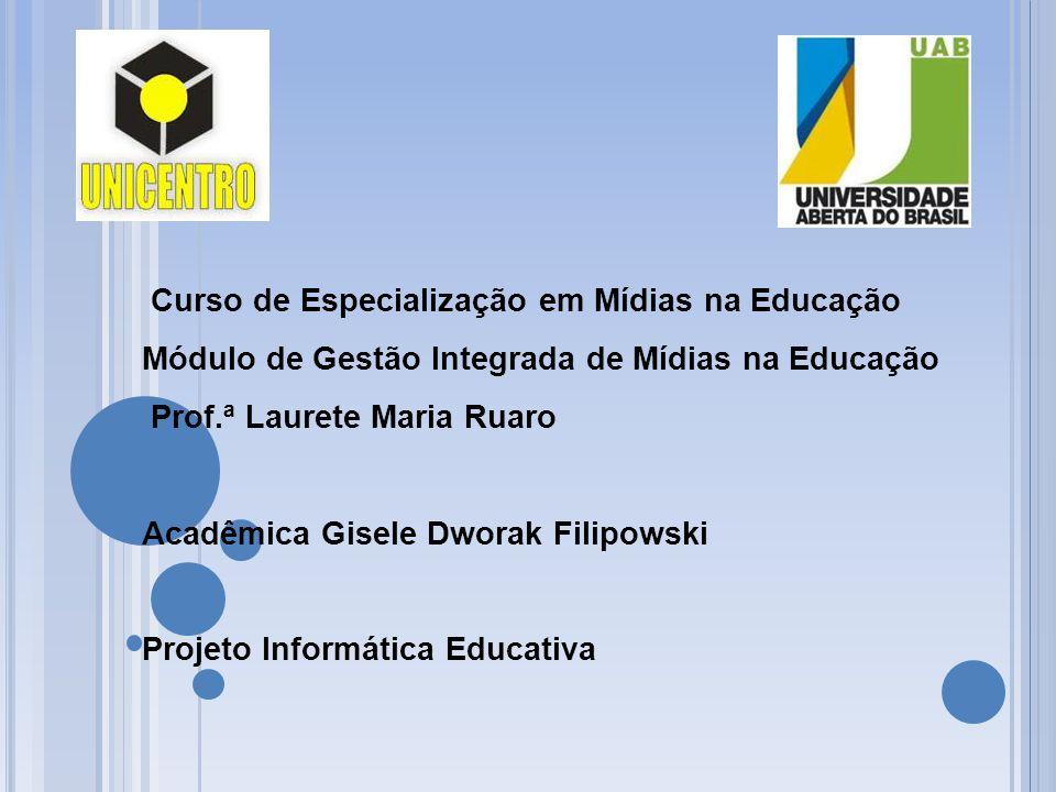 Curso de Especialização em Mídias na Educação