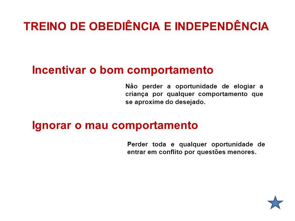 TREINO DE OBEDIÊNCIA E INDEPENDÊNCIA