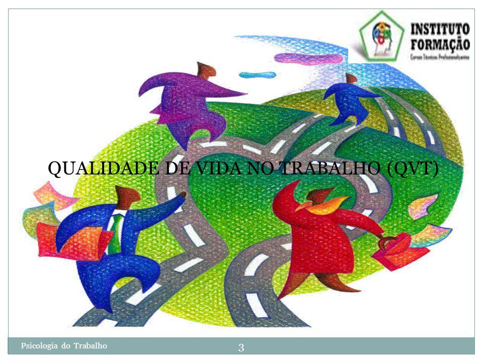 QUALIDADE DE VIDA NO TRABALHO (QVT)