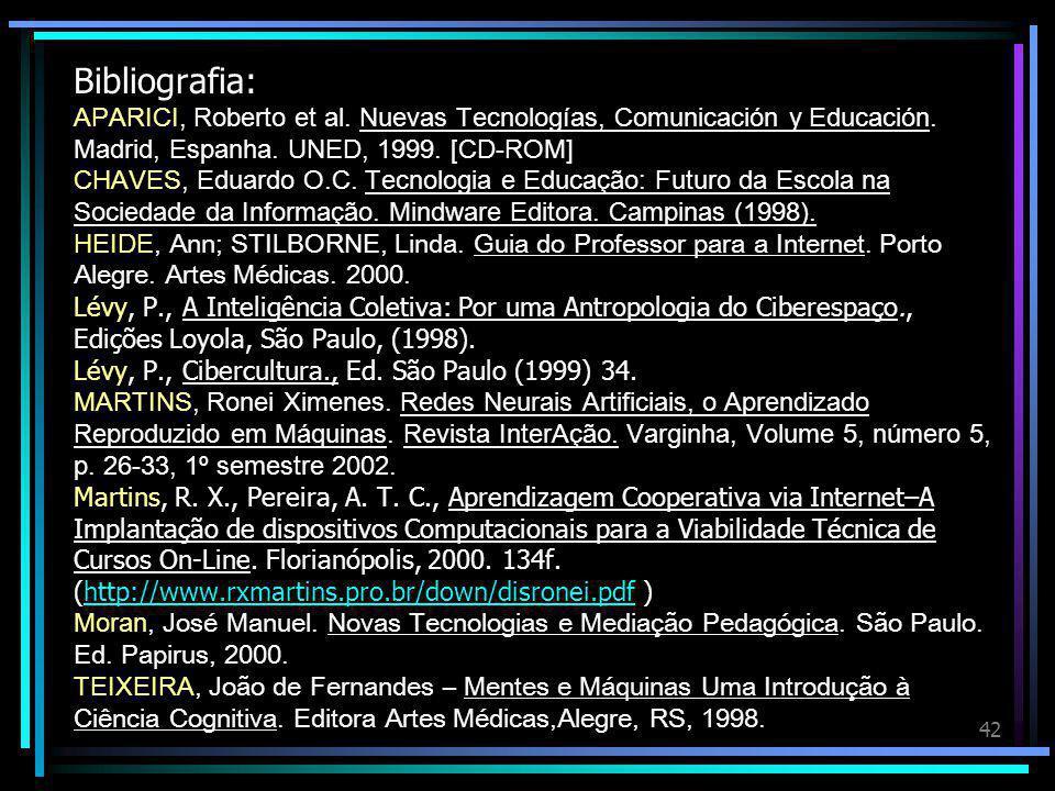Bibliografia: APARICI, Roberto et al