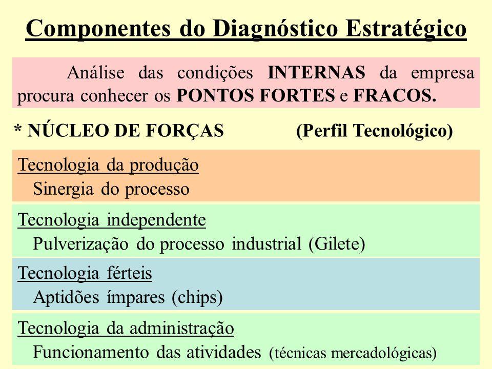 Componentes do Diagnóstico Estratégico