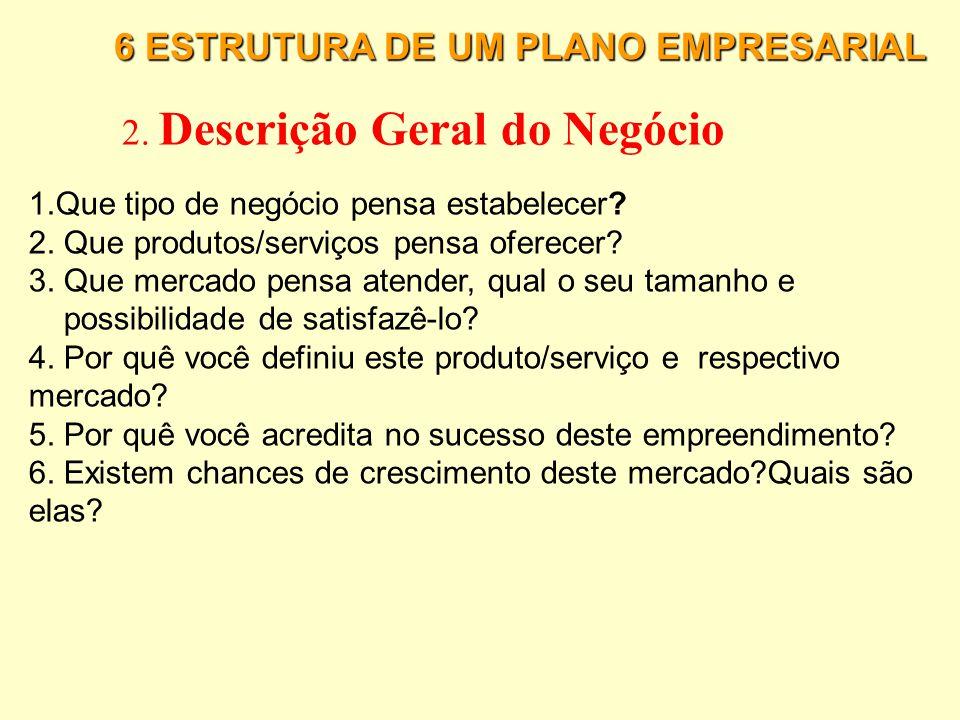 2. Descrição Geral do Negócio