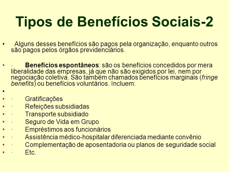 Tipos de Benefícios Sociais-2