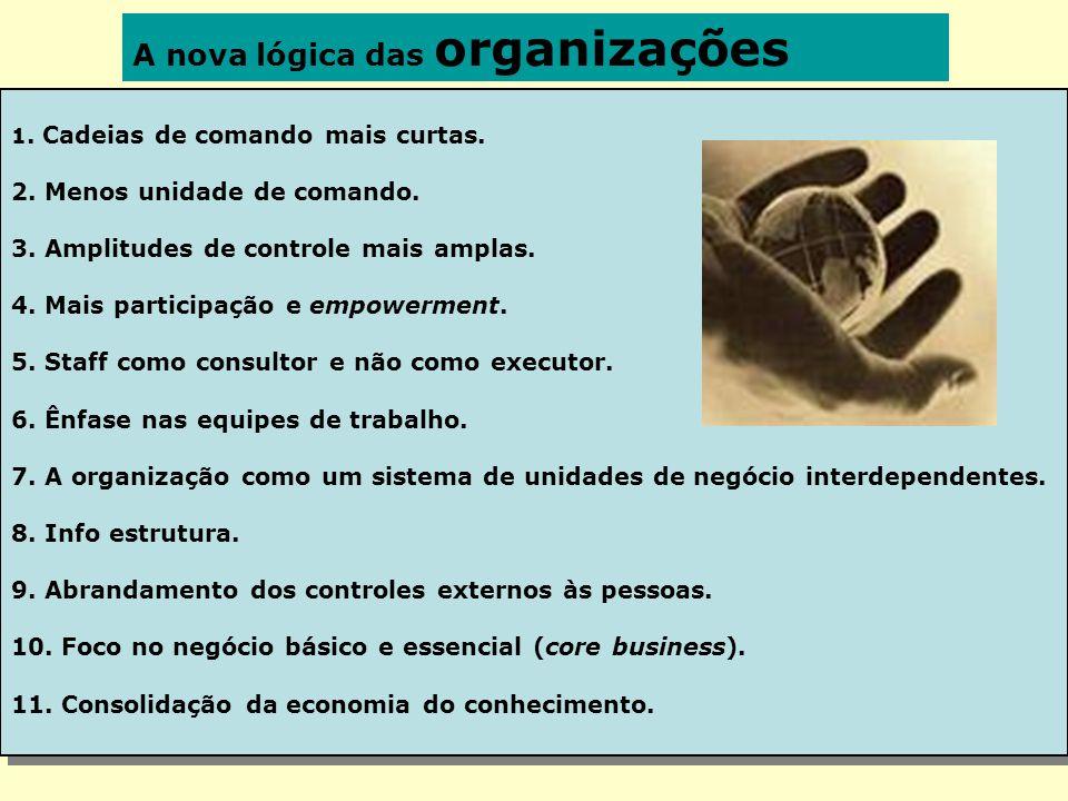 A nova lógica das organizações
