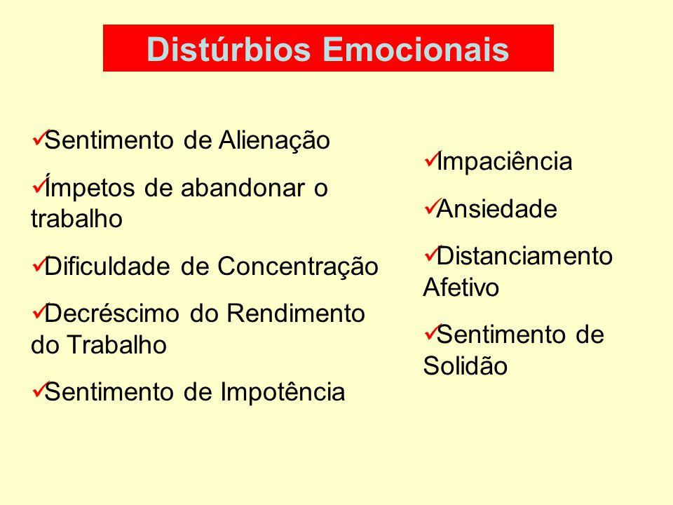 Distúrbios Emocionais