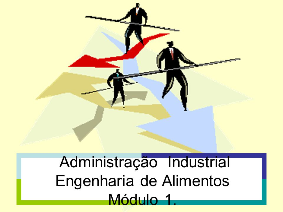Administração Industrial Engenharia de Alimentos Módulo 1.