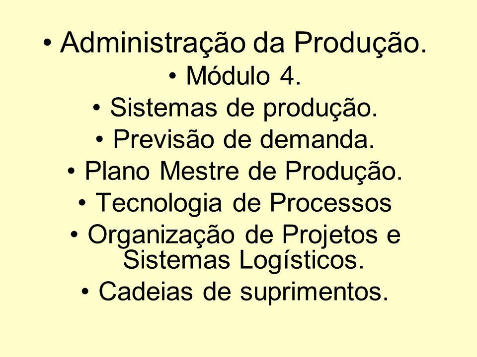 Administração da Produção.