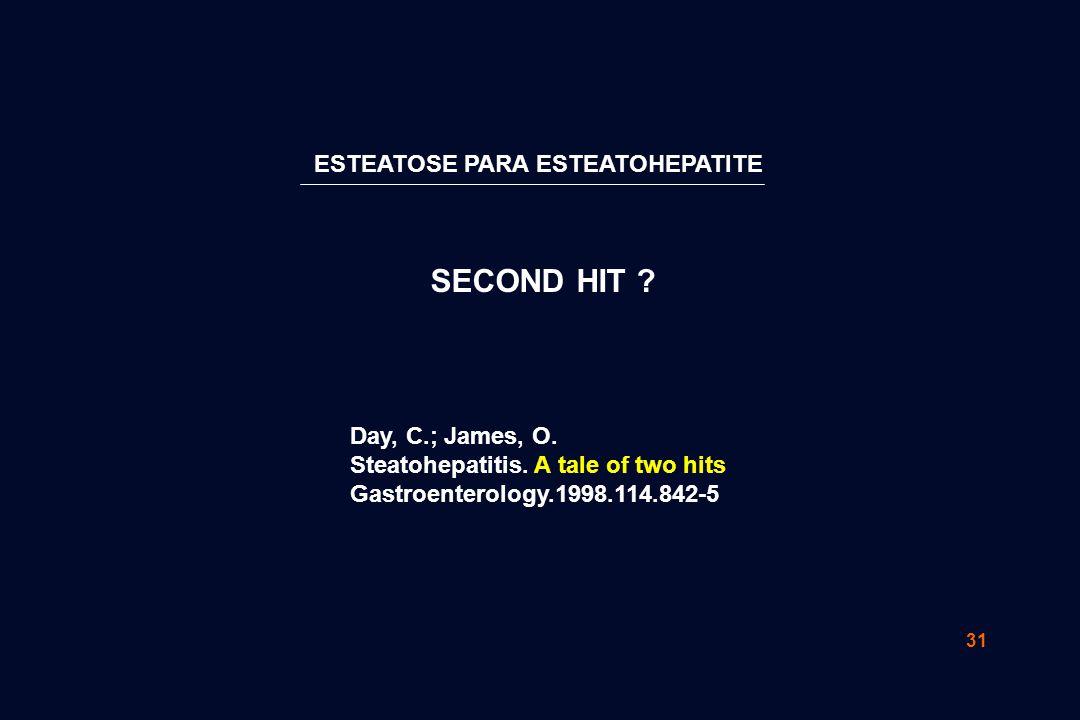 SECOND HIT ESTEATOSE PARA ESTEATOHEPATITE Day, C.; James, O.