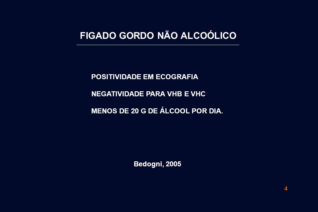 FIGADO GORDO NÃO ALCOÓLICO