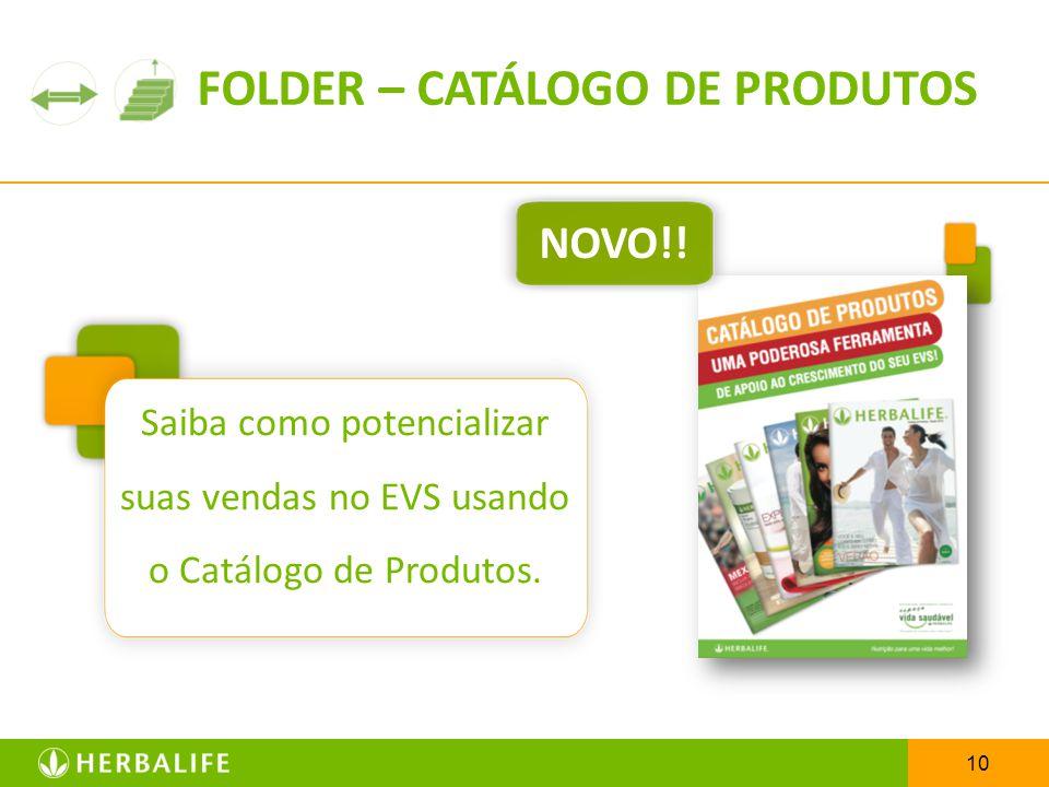 FOLDER – CATÁLOGO DE PRODUTOS