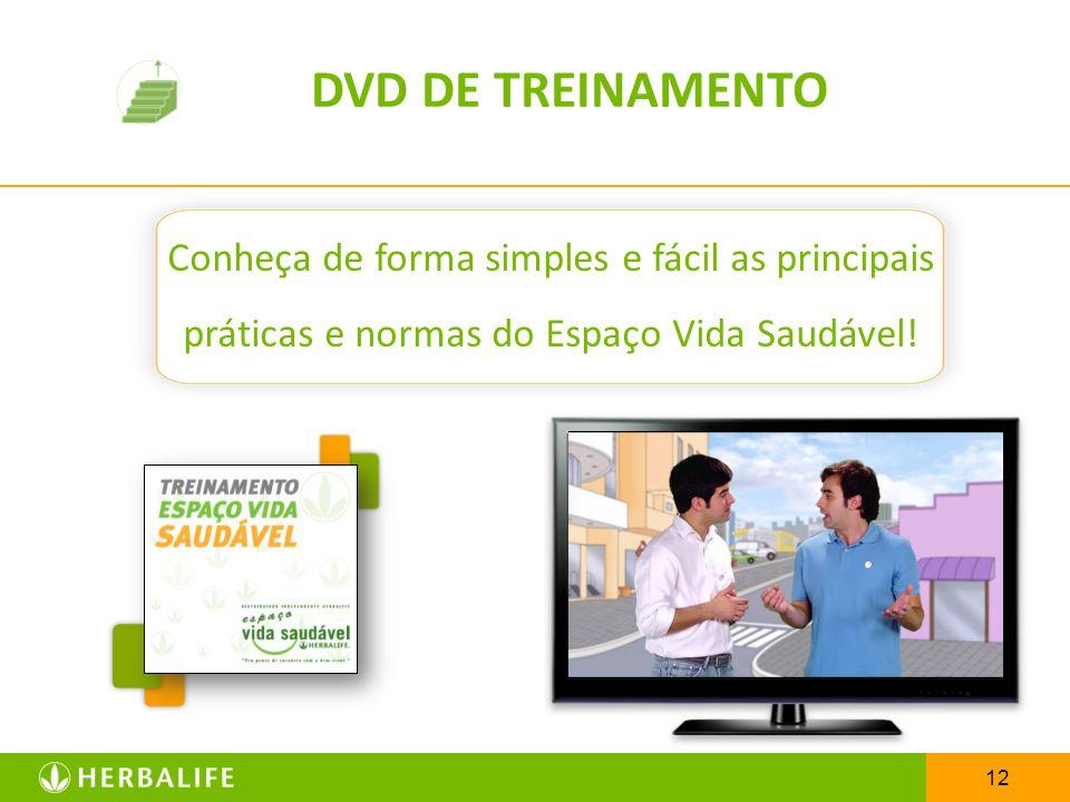 DVD DE TREINAMENTO Conheça de forma simples e fácil as principais práticas e normas do Espaço Vida Saudável!