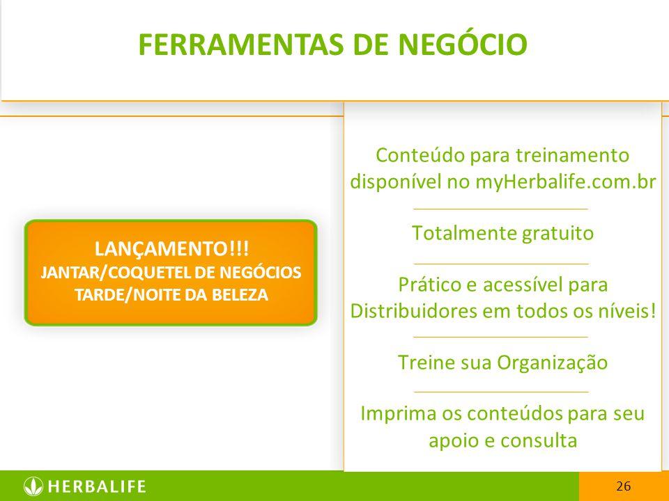 FERRAMENTAS DE NEGÓCIO
