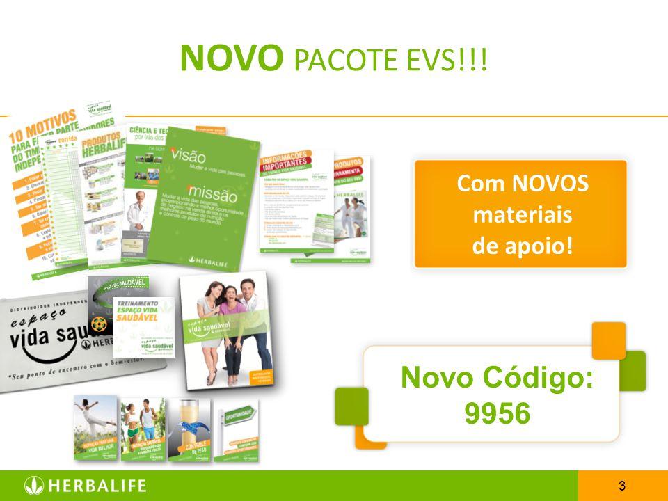 NOVO PACOTE EVS!!! Com NOVOS materiais de apoio! Novo Código: 9956