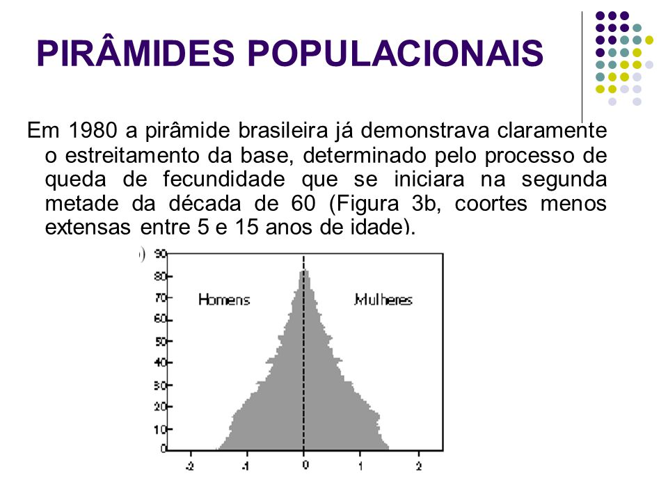 PIRÂMIDES POPULACIONAIS