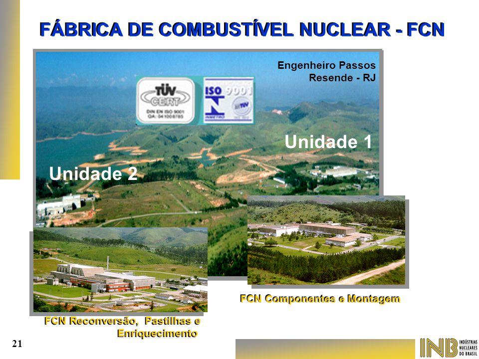 FÁBRICA DE COMBUSTÍVEL NUCLEAR - FCN