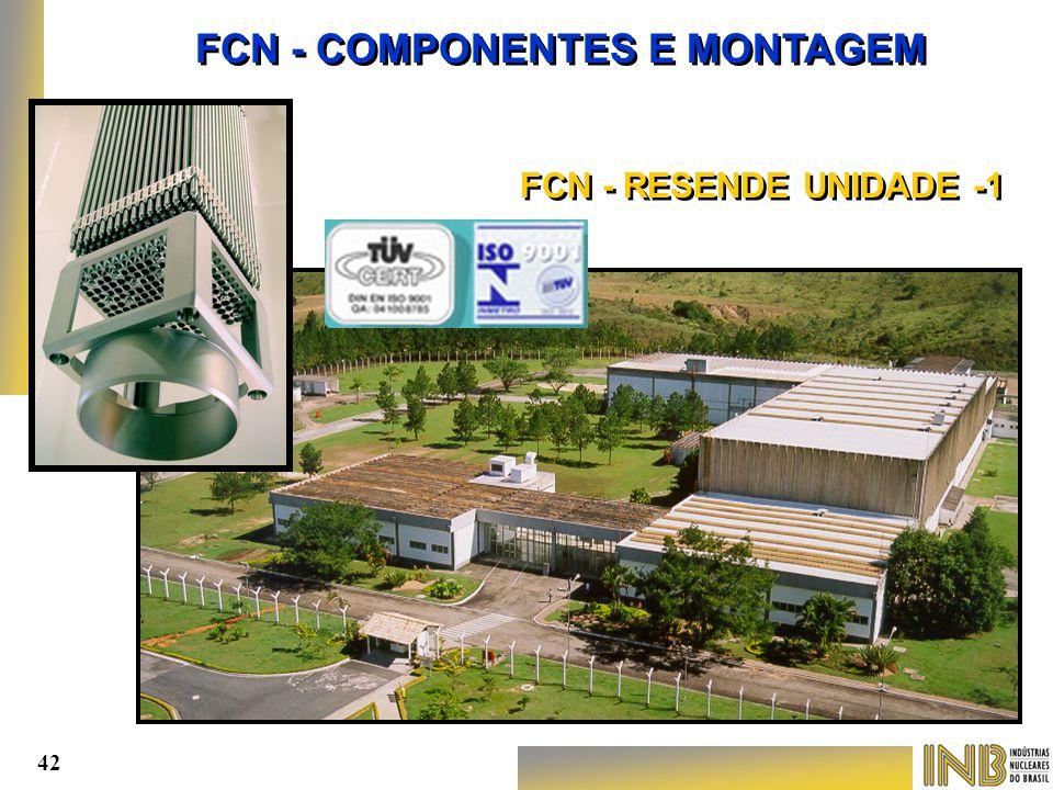FCN - COMPONENTES E MONTAGEM