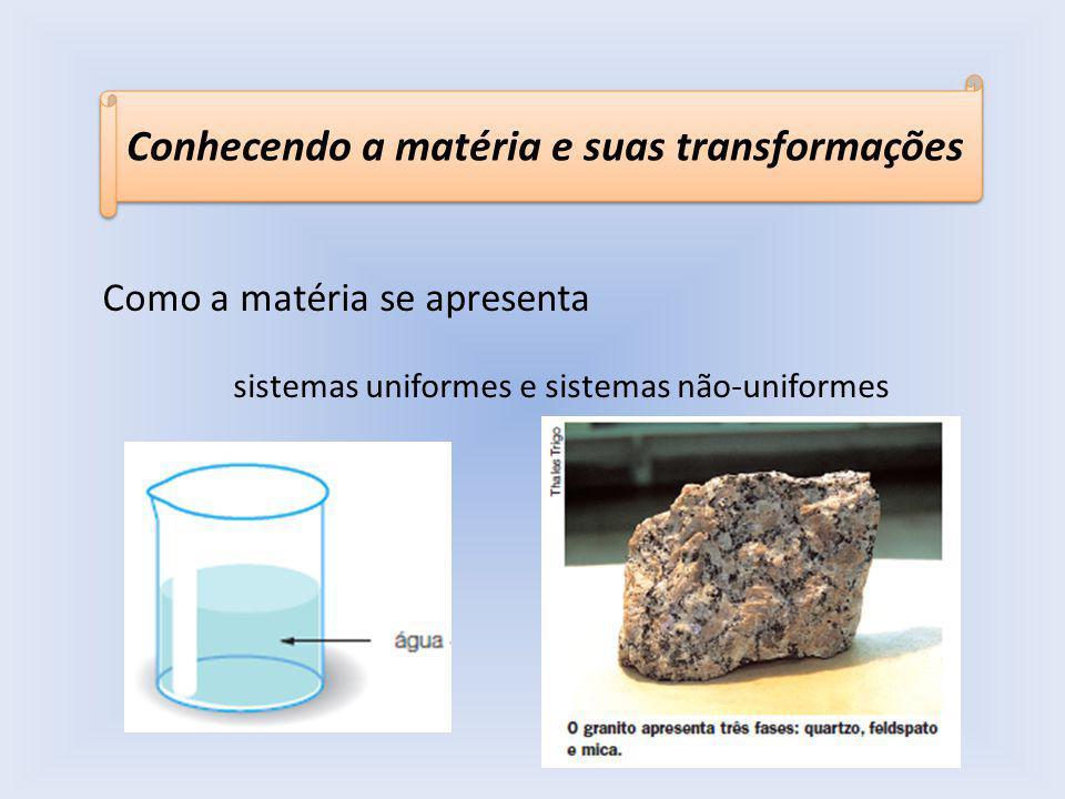 sistemas uniformes e sistemas não-uniformes