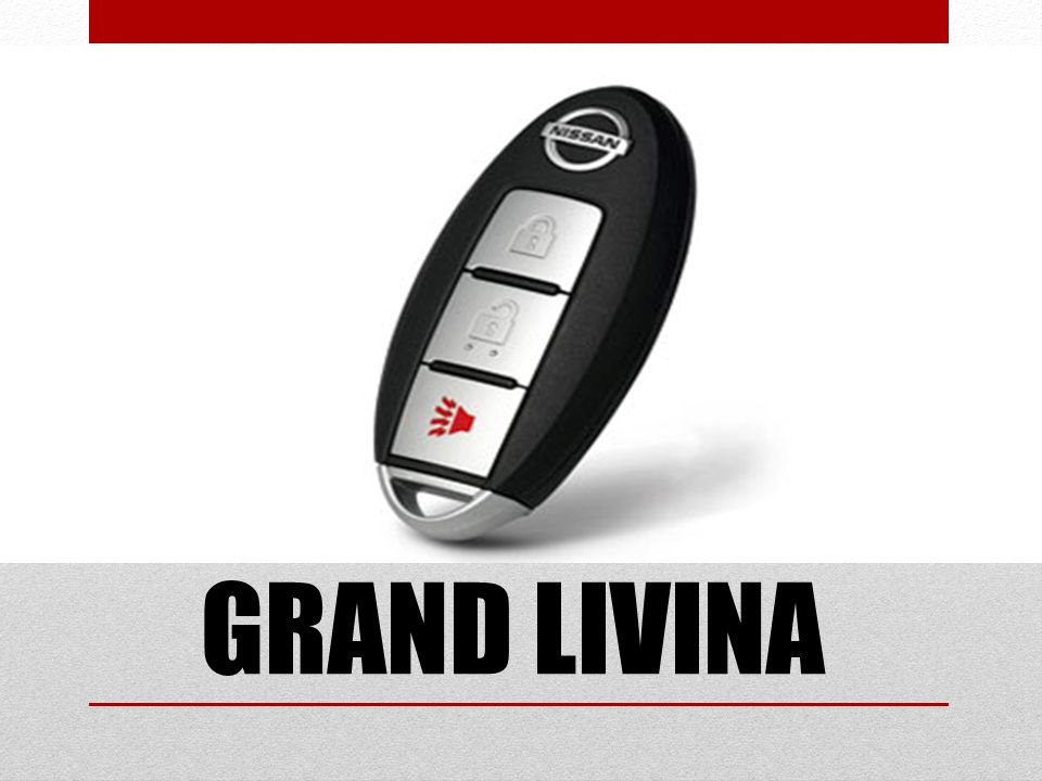 I KEY GRAND LIVINA