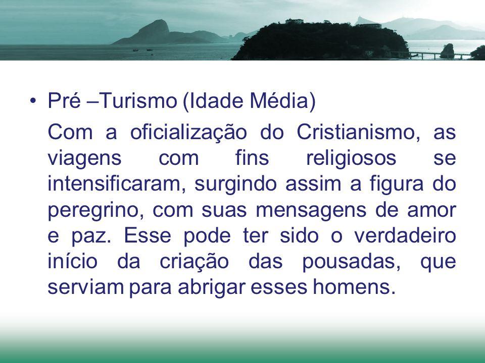 Pré –Turismo (Idade Média)