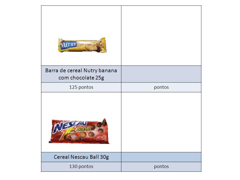Barra de cereal Nutry banana com chocolate 25g