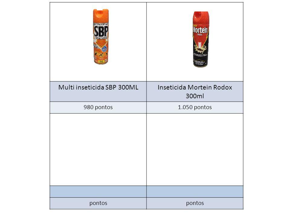 Multi inseticida SBP 300ML Inseticida Mortein Rodox 300ml
