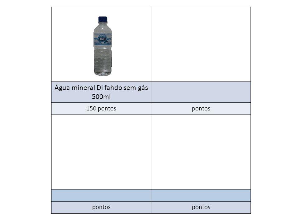 Água mineral Di fahdo sem gás 500ml