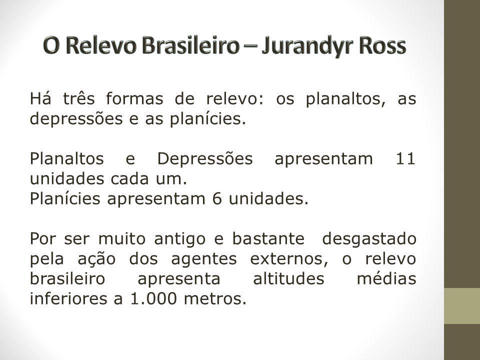 O Relevo Brasileiro – Jurandyr Ross