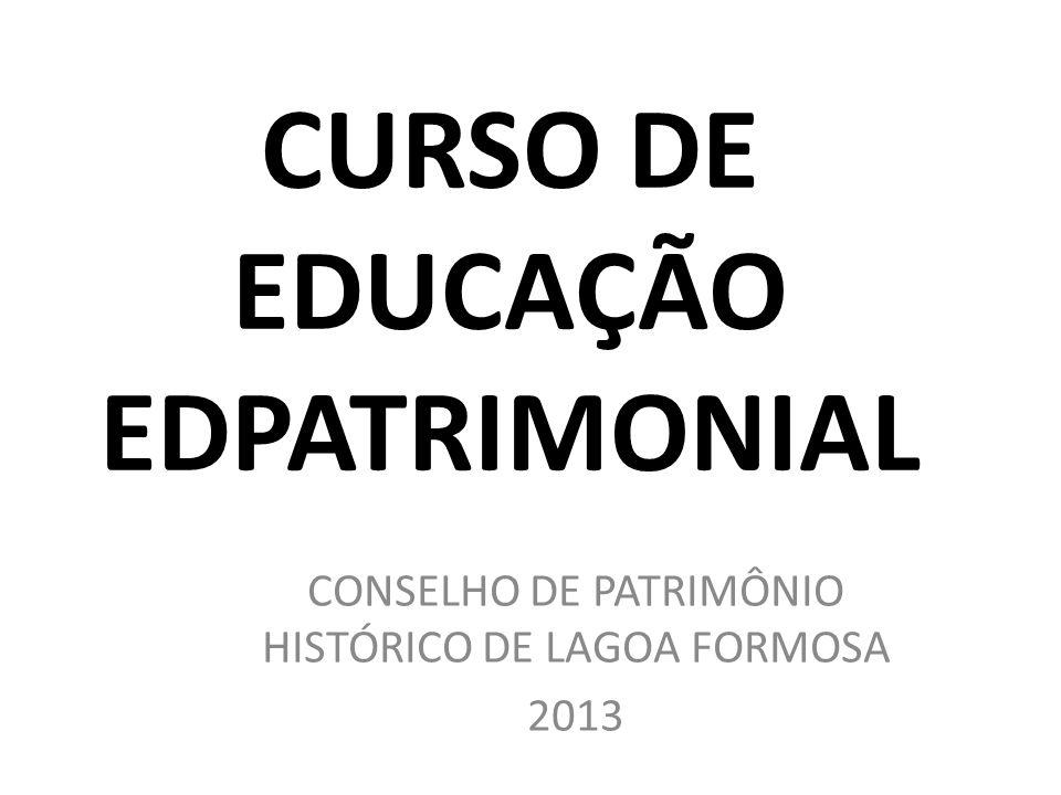 CURSO DE EDUCAÇÃO EDPATRIMONIAL