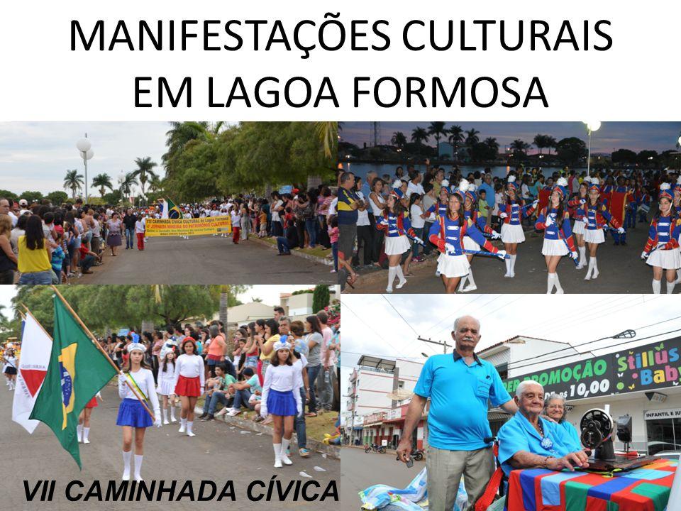 MANIFESTAÇÕES CULTURAIS EM LAGOA FORMOSA