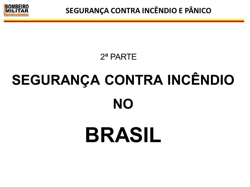 SEGURANÇA CONTRA INCÊNDIO E PÂNICO SEGURANÇA CONTRA INCÊNDIO