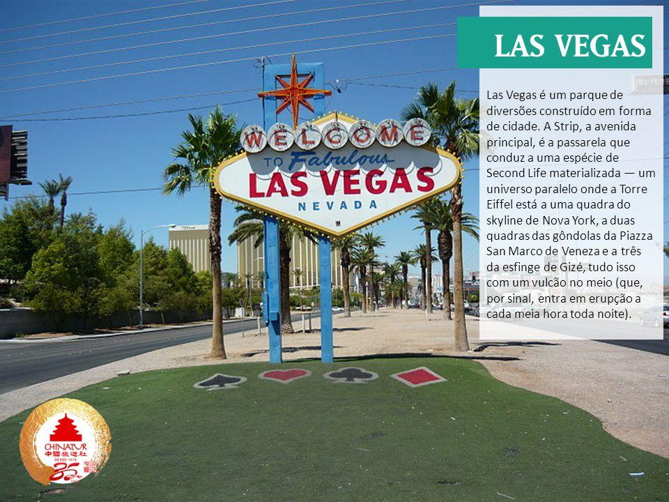 Las Vegas é um parque de diversões construído em forma de cidade
