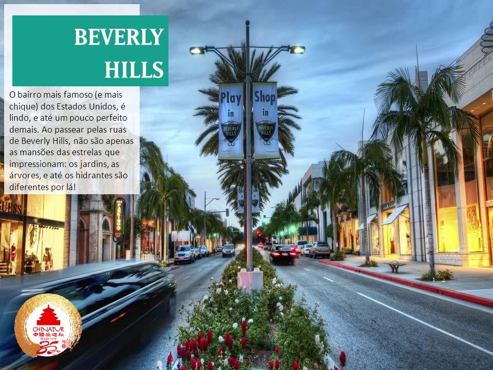O bairro mais famoso (e mais chique) dos Estados Unidos, é lindo, e até um pouco perfeito demais. Ao passear pelas ruas de Beverly Hills, não são apenas as mansões das estrelas que impressionam: os jardins, as árvores, e até os hidrantes são diferentes por lá!