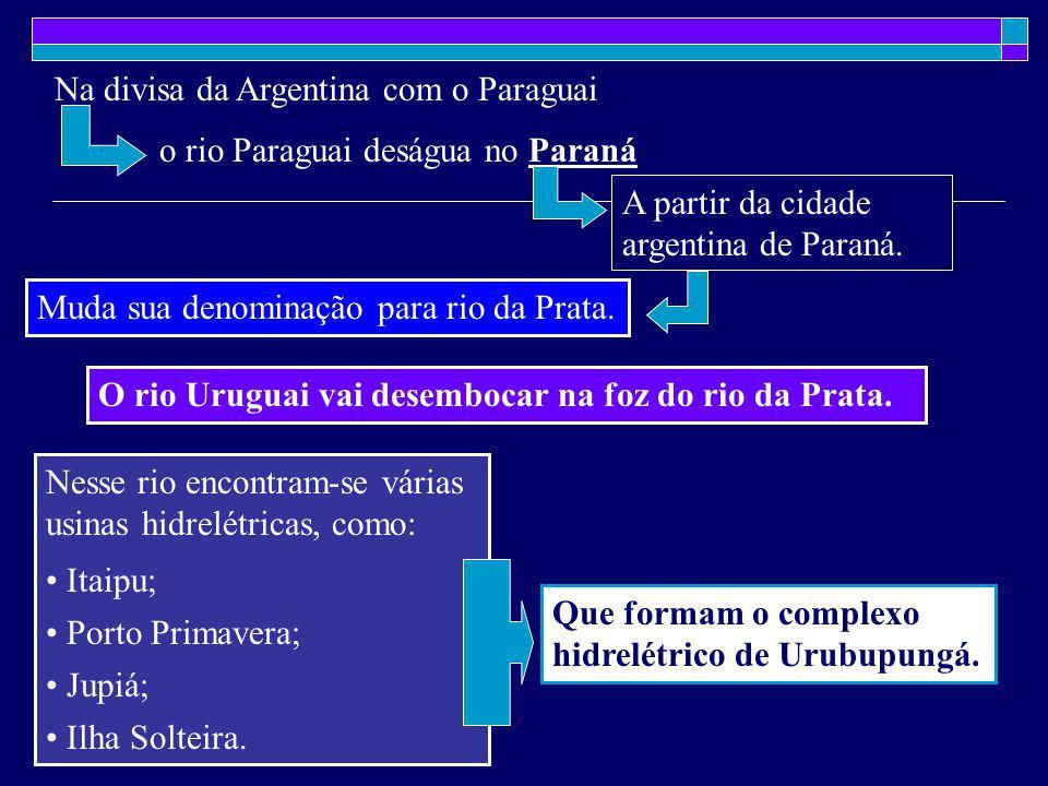 Na divisa da Argentina com o Paraguai