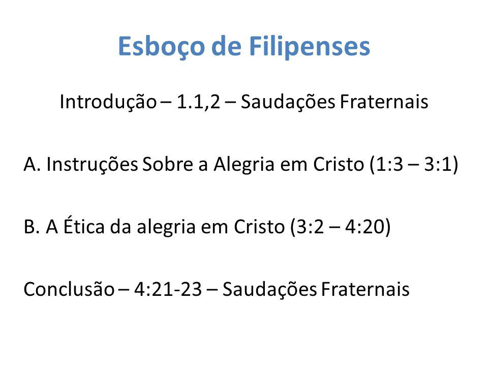 Esboço de Filipenses