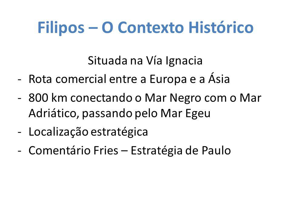 Filipos – O Contexto Histórico