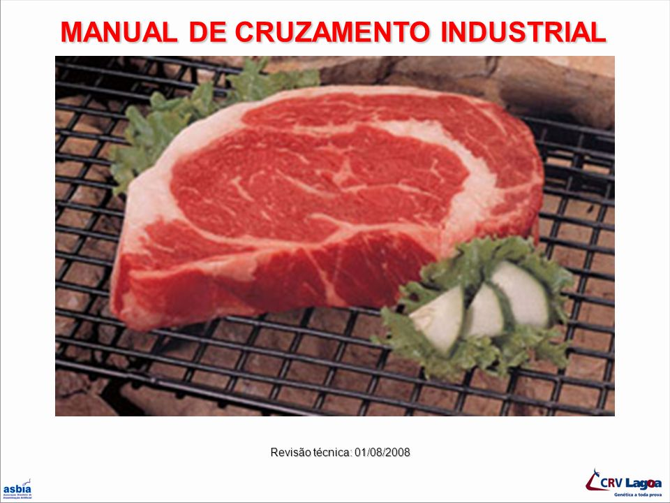 MANUAL DE CRUZAMENTO INDUSTRIAL
