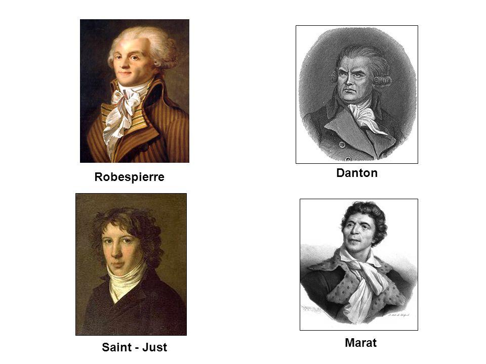 Danton Robespierre Marat Saint - Just